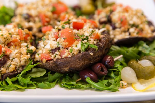 Grilled Portobello Mushrooms by HangryQ