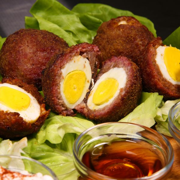 Smoked Scotch Eggs by HangryQ